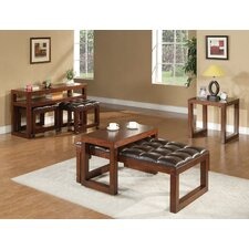 <strong>Alpine Furniture</strong> Tiburon Coffee Table Set