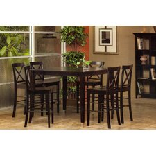 <strong>Alpine Furniture</strong> Bayview 7 Piece Counter Height Dining Set