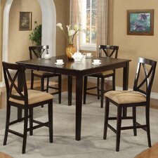 <strong>Alpine Furniture</strong> Jackson 5 Piece Counter Height Dining Set