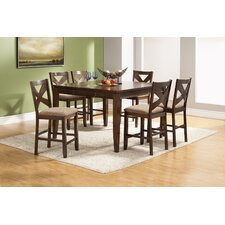 <strong>Alpine Furniture</strong> Albany 7 Piece Counter Height Dining Set