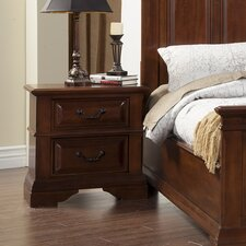 Alton 2 Drawer Nightstand