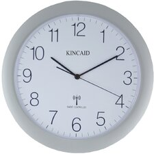 "11.75"" Radio Controlled Wall Clock"