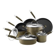Advanced Nonstick 11 Piece Cookware Set