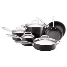 <strong>Anolon</strong> Titanium 10-Piece Cookware Set