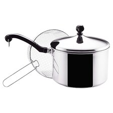 Classic Stainless Steel 4 Qt. Saucepan
