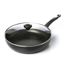"12"" Nonstick Skillet with Lid"