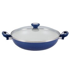 "New Traditions 12.5"" Non-Stick Skillet with Lid"