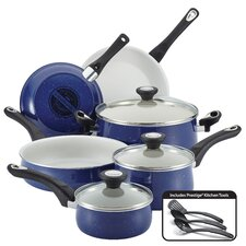 New Traditions Speckled Aluminum Nonstick 12-Piece Cookware Set