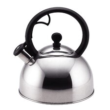 Classic Accessories Stainless Steel 2 Quart Sonoma Whistling Tea Kettle