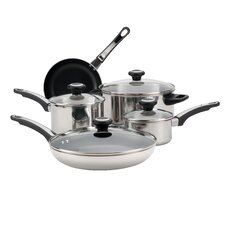 High Performance Stainless Steel 12-Piece Cookware Set