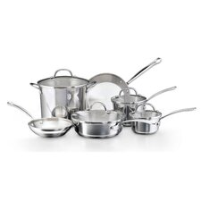 <strong>Farberware</strong> Millennium Cookware 10-Piece Cookware Set