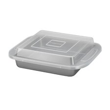 "<strong>Farberware</strong> 9"" Square Covered Cake Pan"