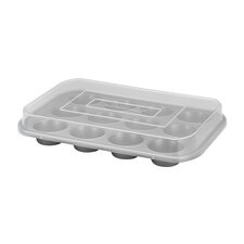 <strong>Farberware</strong> 12-Cup Covered Muffin Pan
