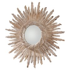 Versailles Hand Carved Starburst Mirror