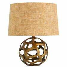 "Ennis 20.5"" H Table Lamp with Drum Shade"
