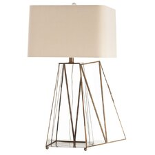 "Edmond 29"" H Table Lamp with Square Shade"