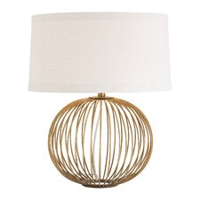 "Grayer 23"" H Table Lamp with Drum Shade"