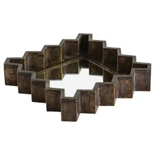 Ziggurat Square Tray/Mirror