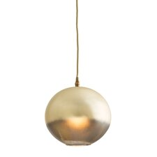 Lily 1 Light Globe Pendant