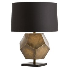 "Drea 27"" H Table Lamp with Drum Shade"