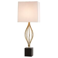 "Journey 33"" H Table Lamp with Square Shade"