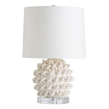 "Jamienne 23"" H Table Lamp with Drum Shade"