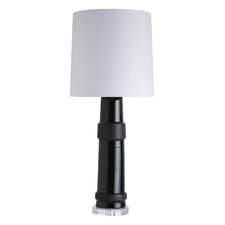 "Kenya 29"" H Table Lamp with Drum Shade"