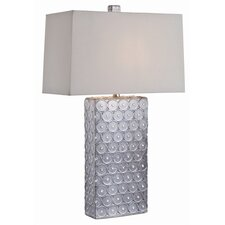 "Roanoke 29"" H Table Lamp with Rectangle Shade"