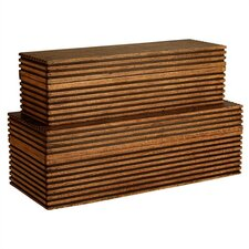 <strong>ARTERIORS Home</strong> Trinity Wooden Boxes (Set of 2)