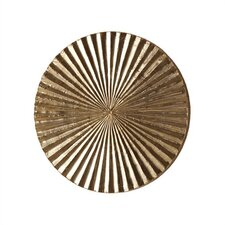 Apollo Metal / Wood Wall Plaque