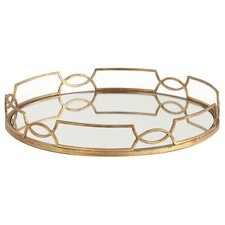 Cinchwaist Gold Iron with Mirror Tray