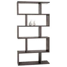 Carmine Limed Oak Veneer Bookshelf