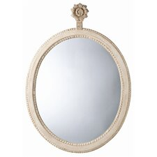 Parkgate Carved Solid Wood Oval Mirror
