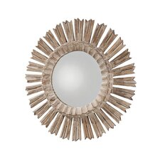 <strong>ARTERIORS Home</strong> Vendome Hand Carved Solid Wood Starburst Mirror