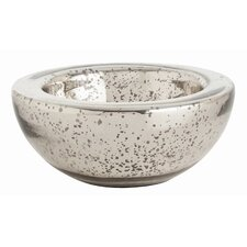Cyd Small Distressed Mercury Bowl