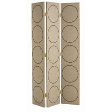 "<strong>ARTERIORS Home</strong> 84.5"" x 49.5"" Emory 3 Panel Room Divider"