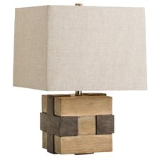 "Madera 22.5"" H Table Lamp with Square Shade"