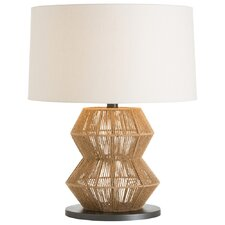 "Seasal 28"" H Table Lamp with Drum Shade"