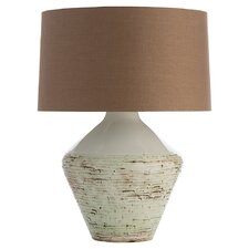 "Hopeton 28"" H Table Lamp with Drum Shade"