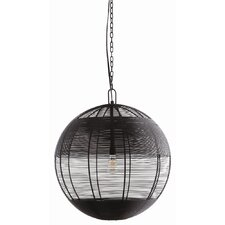 Gunner 1 Light Globe Pendant