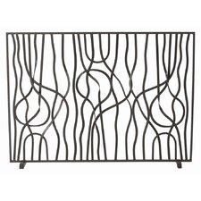 Gautier 1 Panel Iron Fireplace Screen