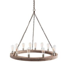 Geoffrey 12 Light Mini Chandelier
