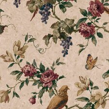 Lodge Décor Pheasant Trail Wallpaper