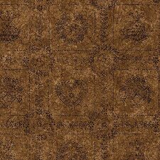 Lodge Décor Tin Square Abstract Wallpaper