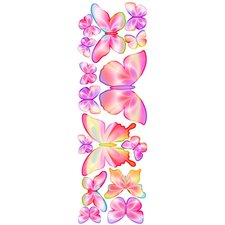 Unique Peel and Stick Fluttering Butterfly Accents Wall Decal