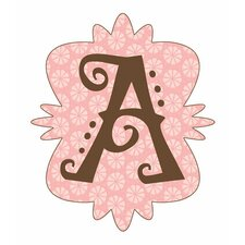 Mod Monograms Letter A Wall Decal
