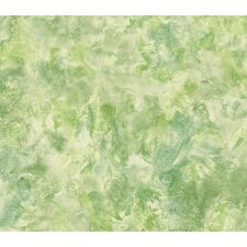 Whimsical Children's Vol. 1 Tie-Dye Wallpaper in Lime