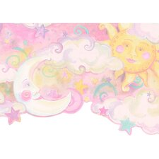 <strong>4 Walls</strong> Whimsical Children's Vol. 1 Celestial Wallpaper Border