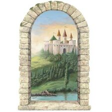 Castle Window Wall Decal