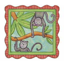 Monkey Panel Wall Decal